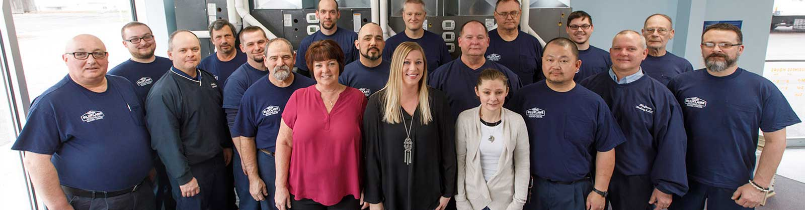 Bluflame service company toledo team