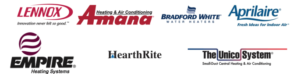 Our Heating and Cooling Products and Partners