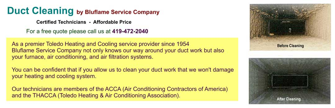 professional Air duct cleaning Toledo