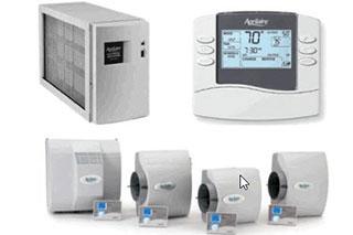 Air quality testing meter