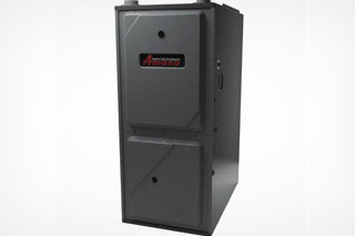 Electrical furnace unit black