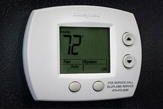 temp control unit meter